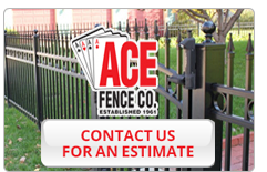Free Quote On Fencing Installation Ace Fence Company