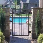 Backyard Aluminum Fence