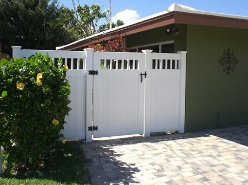 PVC-Vinyl Fencing Example