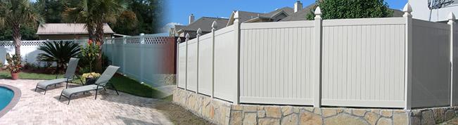 PVC-Vinyl Fencing